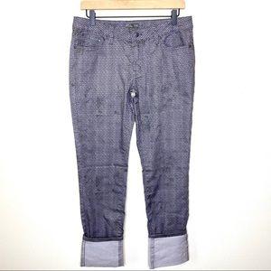 PrAna Kara Moonrock Petal Pants Size 10